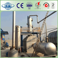 Yongle Huayin plastic waste to fuel oil factory