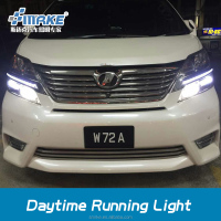 2016 new parts toyota Vellfire LED daytime running light drl led light led accessories parts