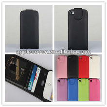 Slim Leather Flip Case Mobile Phone Cover for Apple iPhone 5 / 5S