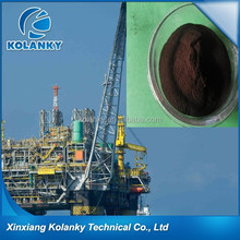 drilling organic lignite dimethyl sulfoxide dissolved