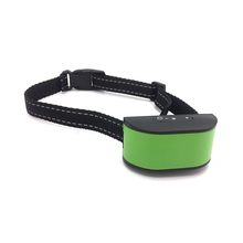 Waterproof Rechargeable Bark Control Collars Green Pet Training Collars for Dogs