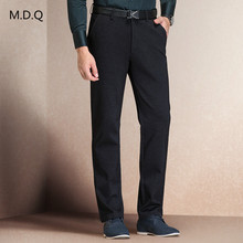 Mens pants high quality straight men's business casual suit trousers for office men