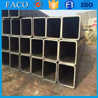 Tianjin square rectangular pipe ! black iron pipe dimensions square hollow section construction