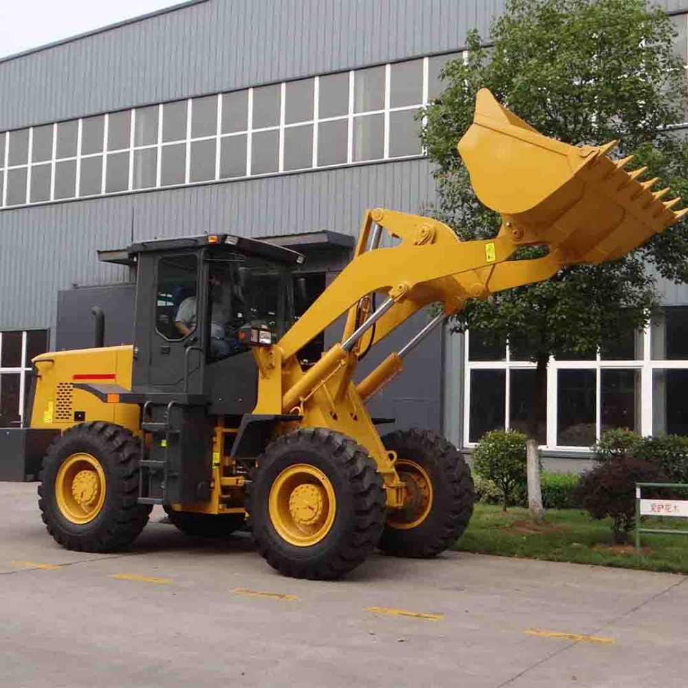 3.0ton ship cargo hold cleaning wheel loader, harbor dedicated loader