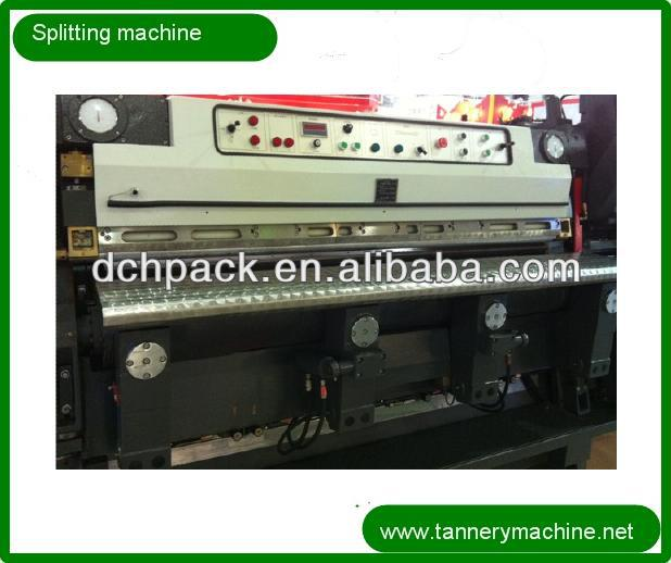 China leather splitting machine for sheep tannery