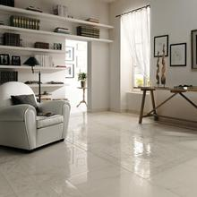 Sale polished surface natural stone imported good quality namibian white marble tiles