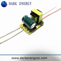 isolated bulb led driver 1-3w superior supply brand of dark energy
