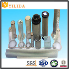 Sintered stainless steel wire mesh filter cartridge