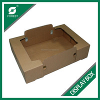 PLAIN DISPLAY BOXES CORRUGATED PACKING DISPLAY BOXES FOR FRUIT CARDBOARD PAPER RETAIL DISPLAY BOXES FOR VEGETABLES