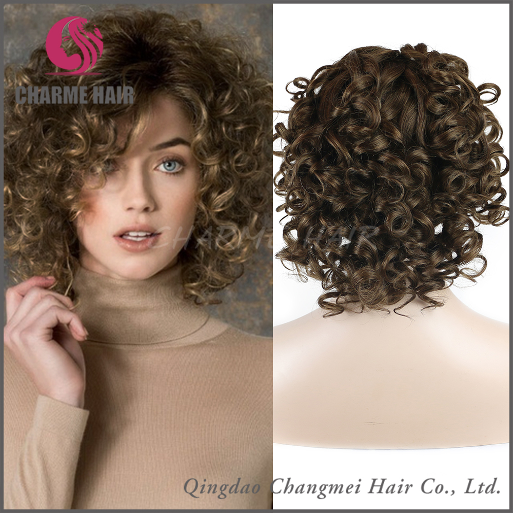 Best seller Tight Curly natural unprocessed wig short lace front wigs for black women