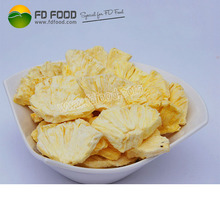 FD pineapple crisps freeze dried fruit