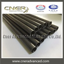 3K glossy carbon fiber and fiberglass tubing product
