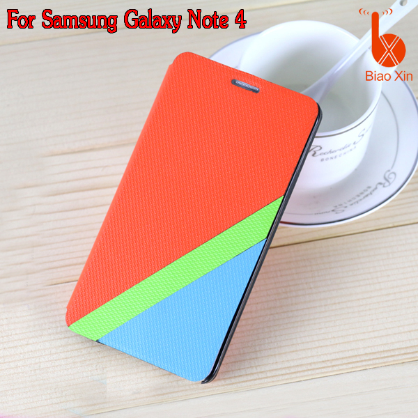 promotional fancy sublimation cell phone case for samsung galaxy note 4 leather case