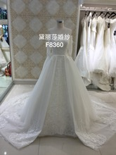 White strapless sleeveless sweetheart neckline mermaid/trumpet with tulle shawl button up the back lace wedding dress