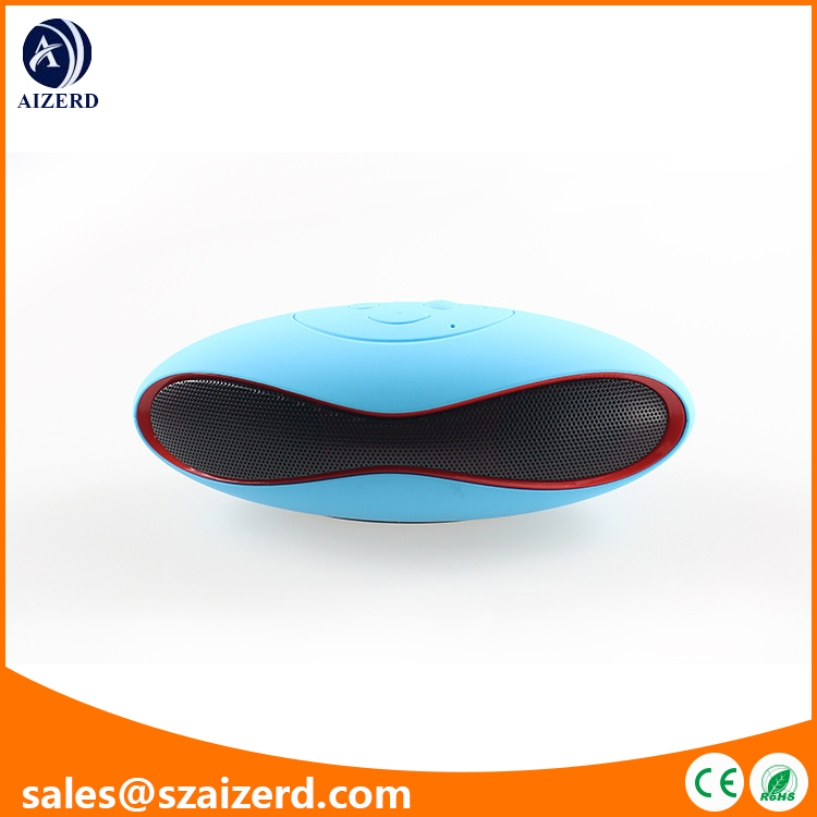Mini Wireless Rugby Bluetooth Speaker with 10M Wireless Transmission Distance
