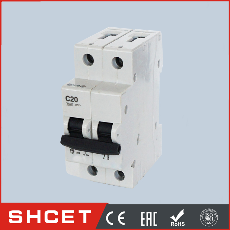 DX-63 old type 1P micro circuit breaker to south america