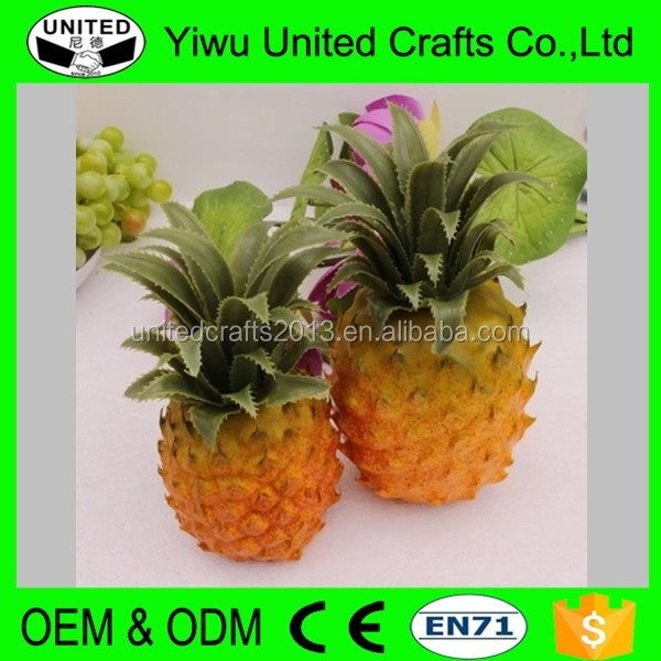 Decorative faux foam fruits and vegetables for food display