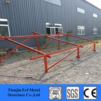 top quality structures galvanized ,C purlin , solar system