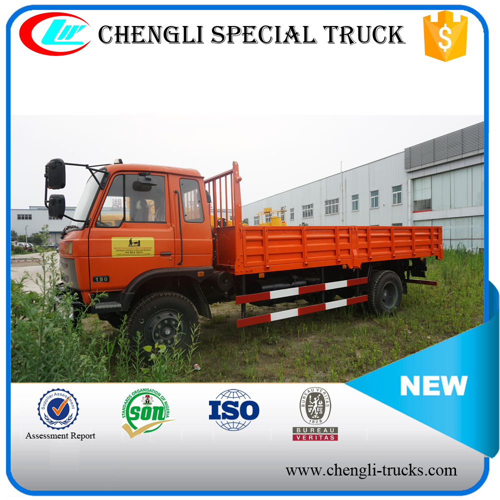 DONGFENG 180hp 4*2 8ton10ton Used Cargo Truck 10T Dry Cargo Box Truck
