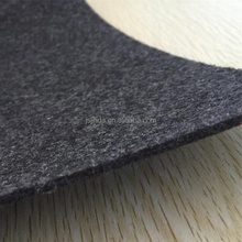 Nonwoven automotive car trunk liner fabric