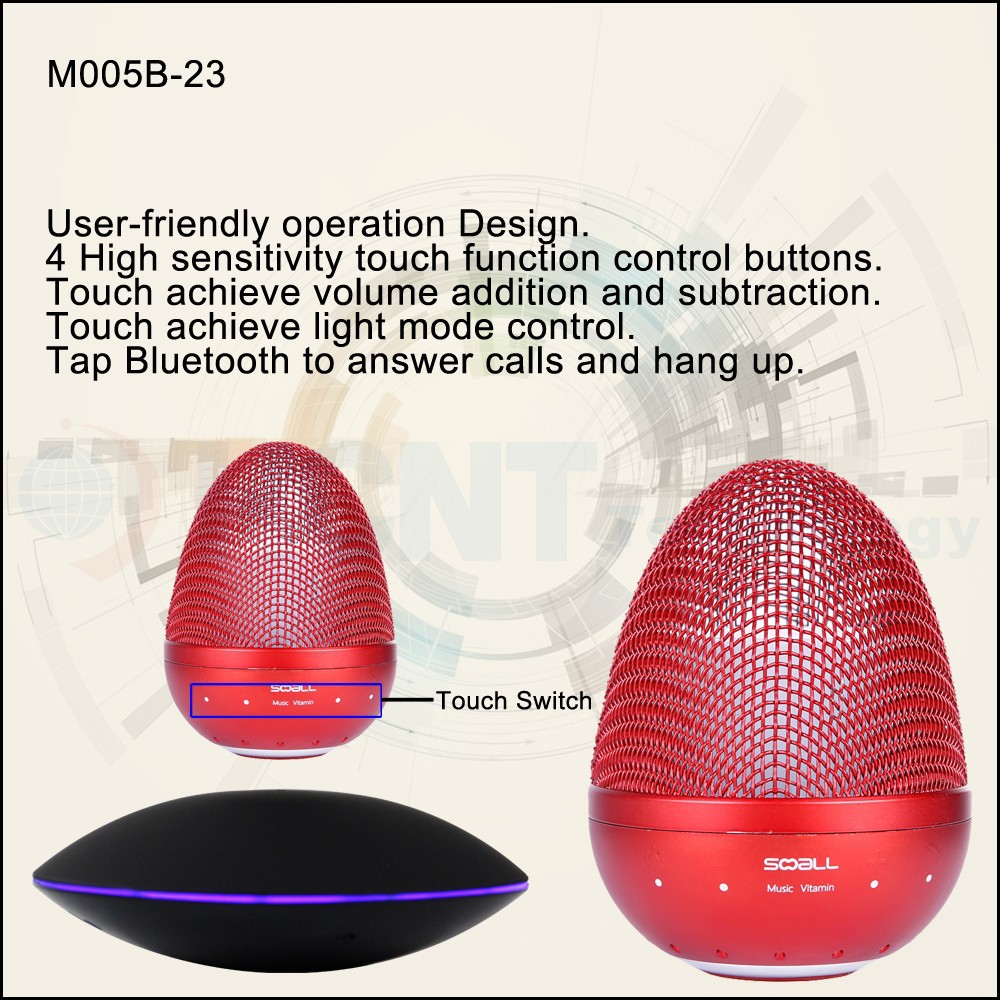 HCNT High quality Levitation MP3 Bluetooth Speaker