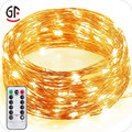Birthday Party Decorations Promotional Waterproof Remote Control Copper Wire Micro LED String Lights