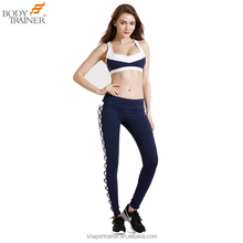 Womens Gym Outfit Set Stretch Workout Wear Sports Bra Fitness Leggings Yoga Pants