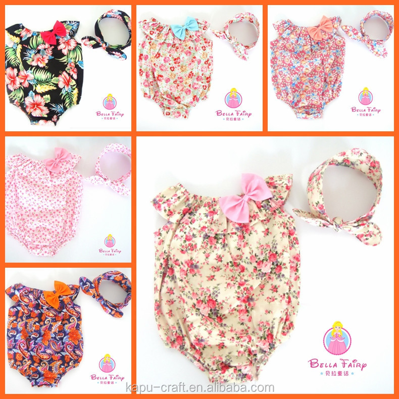 wholesale carters baby clothes, romper floral, pattern baby romper