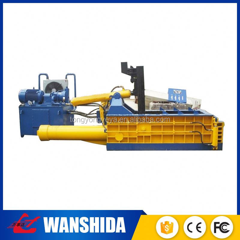 Exported to USA manual valve control scrap iron baling press