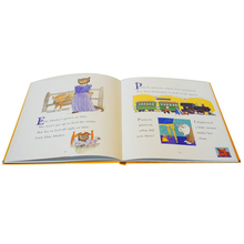 colour printing hardcover children cardboard book printing