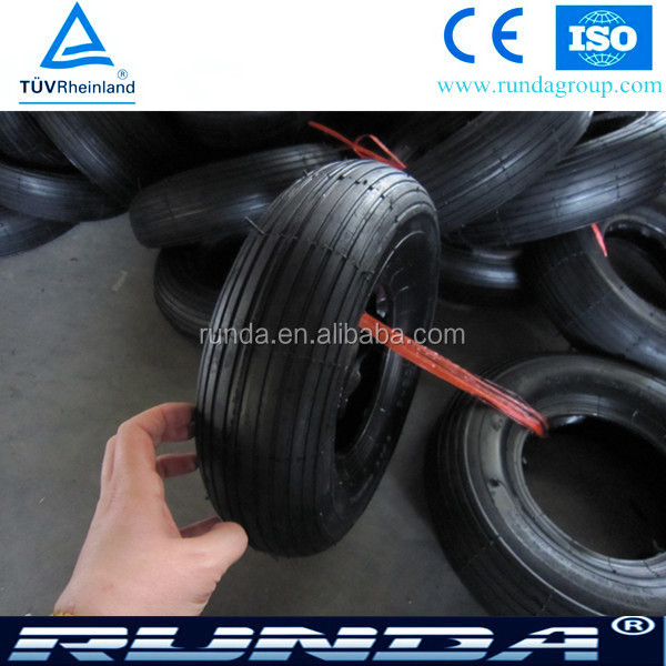 New Style Manufacturer High Quality Wheelbarrow Tire 4.00-6