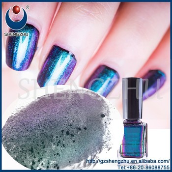 Shengzhu gel Nails Polish Chameleon Pigment powder color