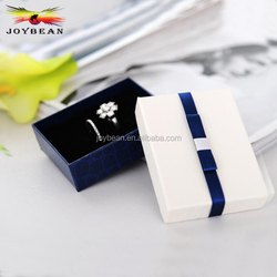 Shenzhen Gift Jewelry Ring Box Big Lots Small Base and Lid Ring Box With Foam Insert