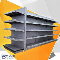 Hot Sales Double Side Island Supermarket Shelf