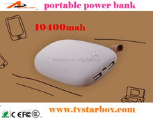 10400mah stone shape power bank small gift promotional portable power bank