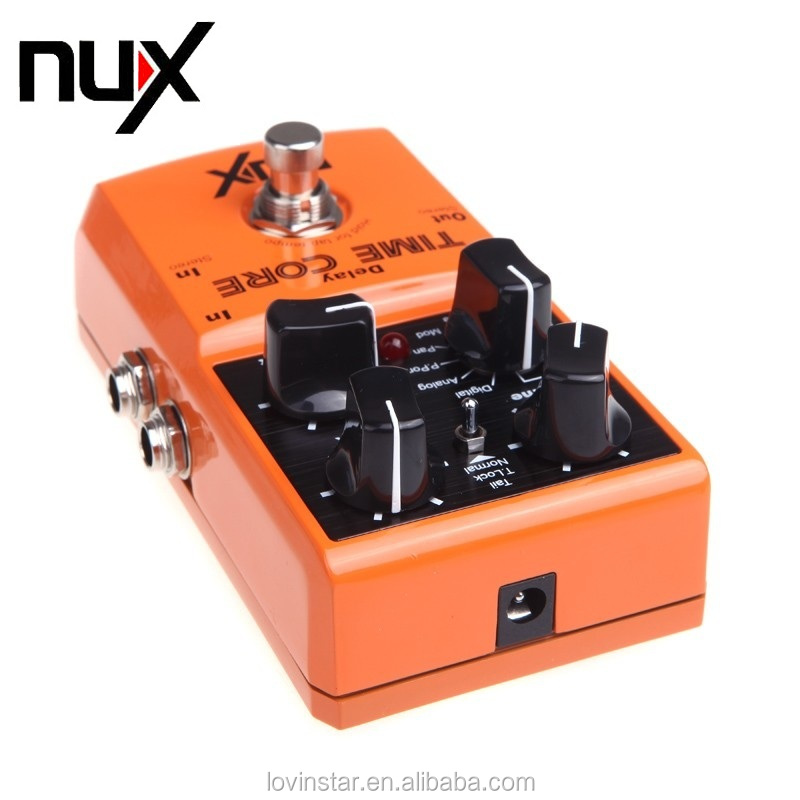 High Quality Guitar Parts & Accessories NUX Time Core Guitar Effect Pedal 7 Delay Models True Bypass