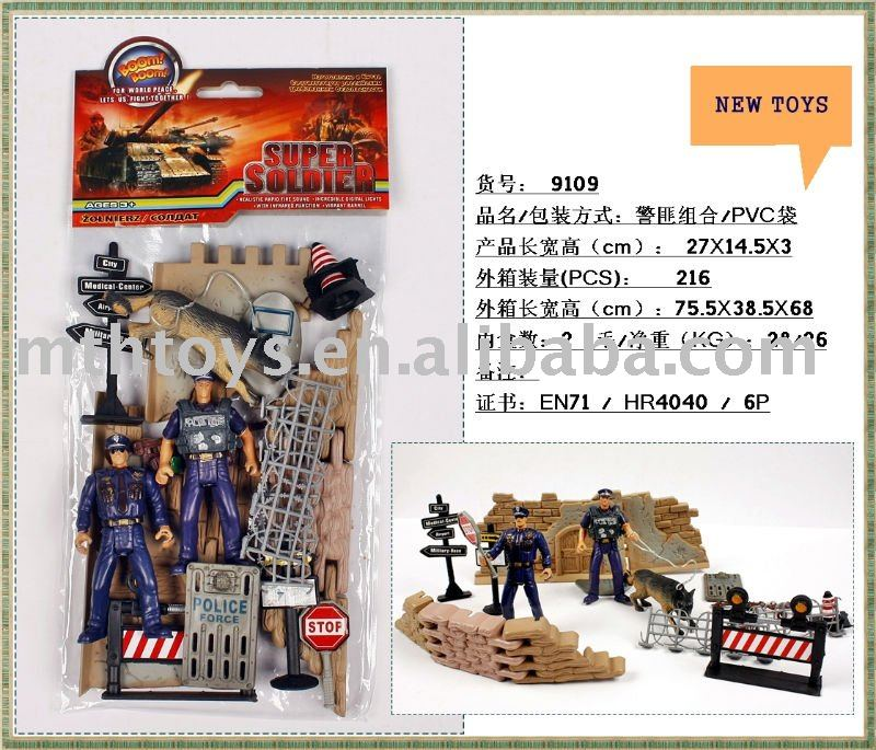 police crime soldier Military army soldier Toy Set