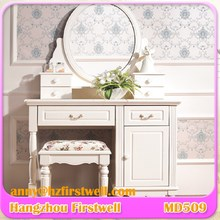 frameless wall dressing mirror for Mirror furniture dressing table