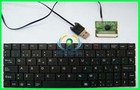 wired notebook keyboard with usb port