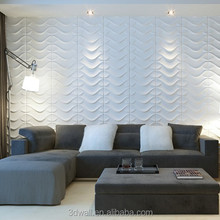 Chinese supplier water proof insulated interior decorative 3d wall panel for walls and ceiling