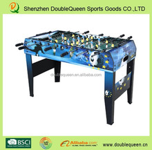 size 48 barcelona and real madrid soccer table