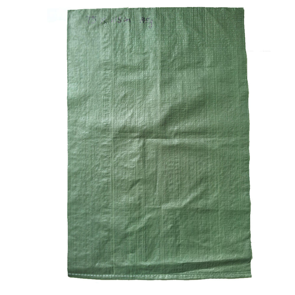 import china cheap price green industrial pp plastic woven trash garbage waste Rubbish or grocery bag
