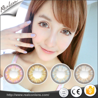 2017 Wholesale Soft Cosmetic contact lenses Color Contact Lens Hami
