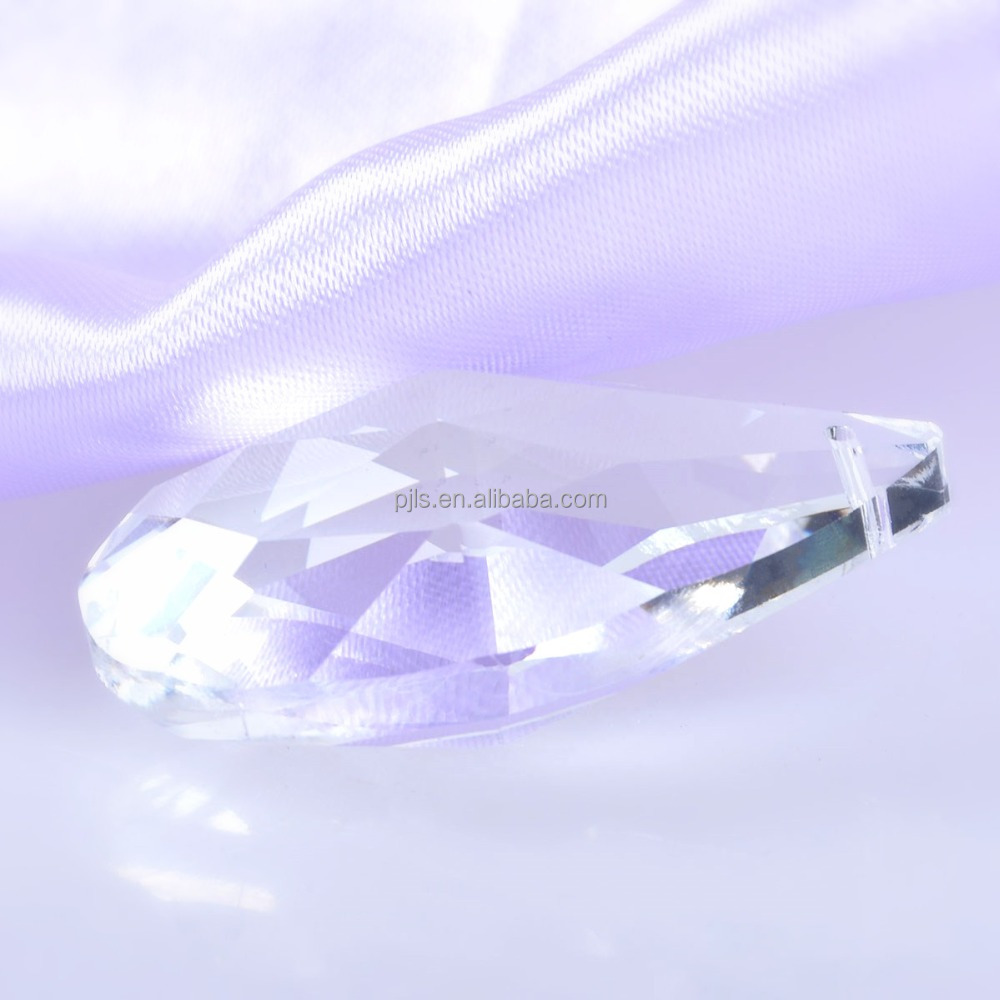 Water Drop 50mm K5 Crystal Glass Lamp Lighting Pendant Beads