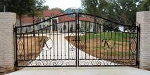 cost simple driveway gate