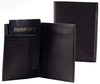 popular pu leather personalised leather billfold wallets
