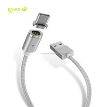 Type C Magnetic charger Cable Wsken USB Type-C Charging Cable for Huawei P9 Xiaomi Mi 4C Letv Nexus 5X/6P Oneplus2 Meizu Pro