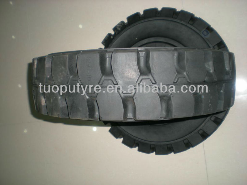 solid tire for TCM forklift 6.50-10, TCM forklift tire