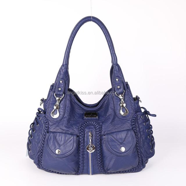 2017 Latest PU Wash Fashion Handbag Angelkiss Brand Handbag Leather Factory  Price Women Handbag Alibaba China 5f1236e390