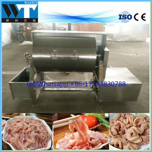 Pork /sheep/duck intestine sausage casing cleaning machine with best price